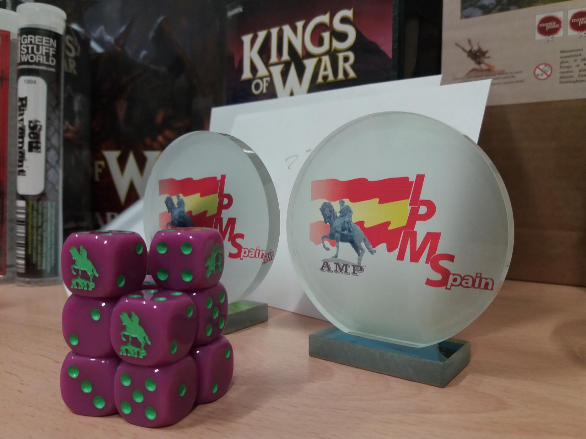 Kings of War 2019 Trofeos