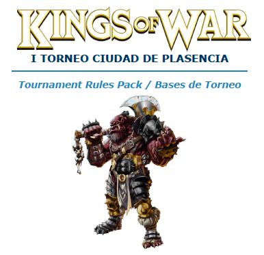 Portada Bases I Torneo KoW Ciudad de Plasencia