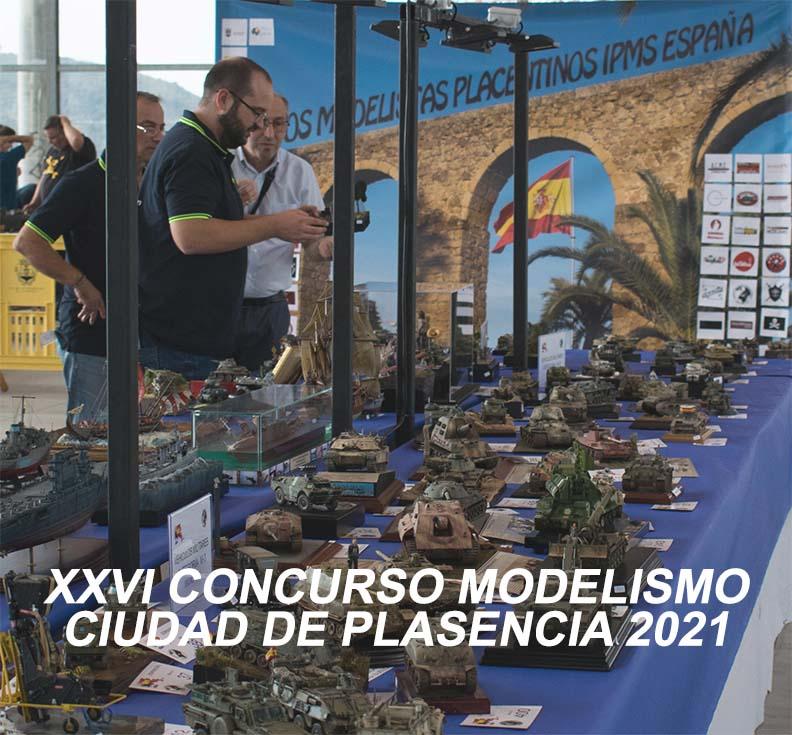 Portada XXVI Concurso Modelismo Ciudad de Plasencia